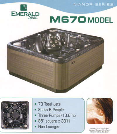 Emerald Spa Manor M670