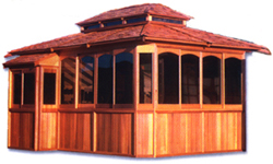 Northwest Gazebos Cascade Model